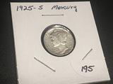 1925 S Mercury Dime