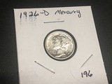 1926 D Mercury Dime BU KEY