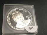1896-1969 Everett McKinley Dirksen Proof 925 Silver .94 Troy Oz Coin