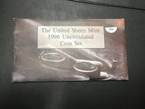 1996 US Mint set with W dime