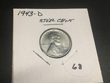 1943-D Steel Lincoln Cent