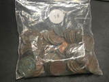 1 Bag old pocket change JUNK
