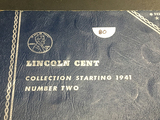 Book #2 Lincoln Cent Starting 1941-1974-S minus 72DD
