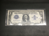 1923 1$ blanket note Woods/White signature AU condition