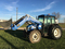 2007 New Holland TN85DA 4WD Cab Tractor, 4.5L 4 cyl. Diesel engine 80hp, 16spd shuttle
