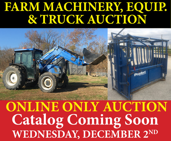 Farm Machinery, Equipment & Truck Auction