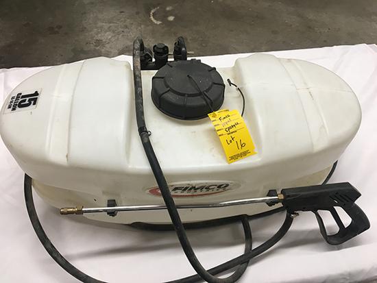 Fimco 15gal 12 Volt Spot Sprayer