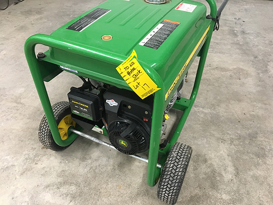 JD 6500 Watt Generator NOTE: MOTOR STUCK