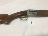Ithaca Model 200E, 12ga, 2 3/4in Side by Side, Gold Trigger, S# 5209274, (Nice Condition)