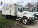 2004 Sterling, Acterra, Eaton Fuller Trans, Morgan 18ft Van Box, with gate lift,