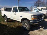 1995 F350 4WD Reg cab, 5 spd, power stroke diesel, 8ft bed, 47,872 Miles, runs & drives
