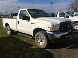 2003 F250 4WD, Reg Cab, V-10 Triton Automatic, 8ft bed, 236,189 miles, runs & drives