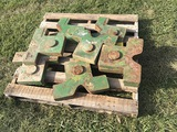Set of 8 Nested JD Combine Weights (Consigned by Ethan Cole)