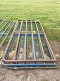 3x$ 10ft Pipe Gates (Consigned by HKH Farms)