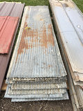 Lot of (27) 8ft Corrugated Used Tin (Consigned by HKH Farms)