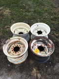 Lot of (4) 6 Bolt Rims