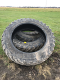 Lot of 4 380/90 R46 AS IS