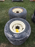 Lot of 2 12.5-15 Tires