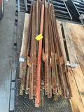 Lot of 42 6 1/2 ft Used T Post
