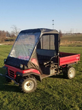 Kawasaki 2510 RTV, Hydraulic Dump Bed, Good Tires, (Consigned by Carl Trueblood 660-341-7392)