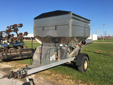 Brent Yield Cart Weigh Wagon, Scales, 18hp V-Twin Gas Engine, 2 5/16in Ball Hitch, Air Bags on Axles