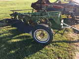 JD 3-14 Pull Type Plow, Spoke Wheels, Complete with Cylinder (Consigned by Murry Schock)