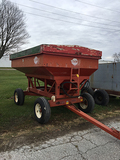 EZ Flow Gravity Wagon with Parker Hyd. Auger (Consigned by Wayne Burkhart 660-341-8238)