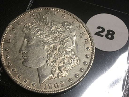 1902-O Morgan Dollar