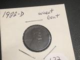 1922-D Lincoln Wheat Cent AU