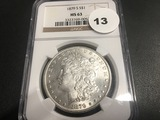 1879-S Morgan Dollar MS63