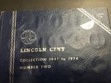 Lincoln Cent Folder Complete 1941-1974