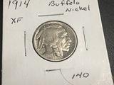 1914 Buffalo Nickel XF
