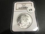 1883-O Morgan Dollar MS63
