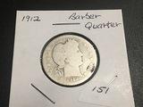 1912 Barber Quarter G4