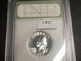 1964 Washington Quarter INB PR-70 Silver