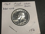 1964 Washington Quarter Proof DDO - 004