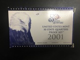 2001 US Mint Proof Quarter Set