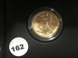 2016-W  Walking Liberty Centennial Gold 1/2 OZ US Mint W/OGP