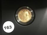2016-W Standing Liberty Centennial Gold Coin 1/4 OZ US Mint W/OGP
