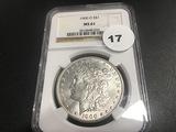 1900-O Morgan Dollar MS61