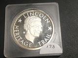 Illinois Heritage Trail Medal UNC