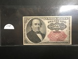 1874 25 CENT Fractional Currency Nice