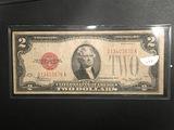 1928D $2 U.S. NOTE Fine 15 FR#1504 JULIAN/MORGENTHAU