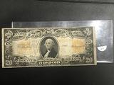 FR 1187 1922 $20 Gold Certificate Speelman/White