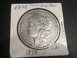 1878 Morgan Dollar 2ND REVERSE