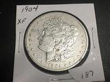 1904 Morgan Dollar XF