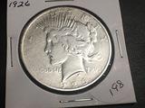 1926 Peace dollar Fine