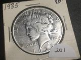1935  Peace dollar VG