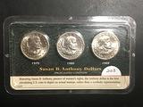 SBA Dollar Set 1979 1980 1999 UNC