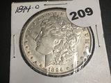 1894-O Morgan Dollar